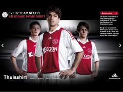 Onthulling Ajax Shirt